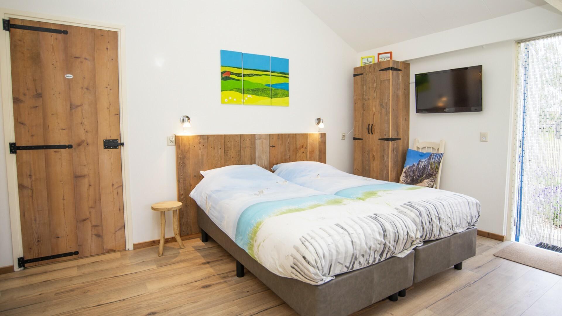 Bed studio Vooruit Zicht bed and breakfast Vrij Zicht VVV Texel