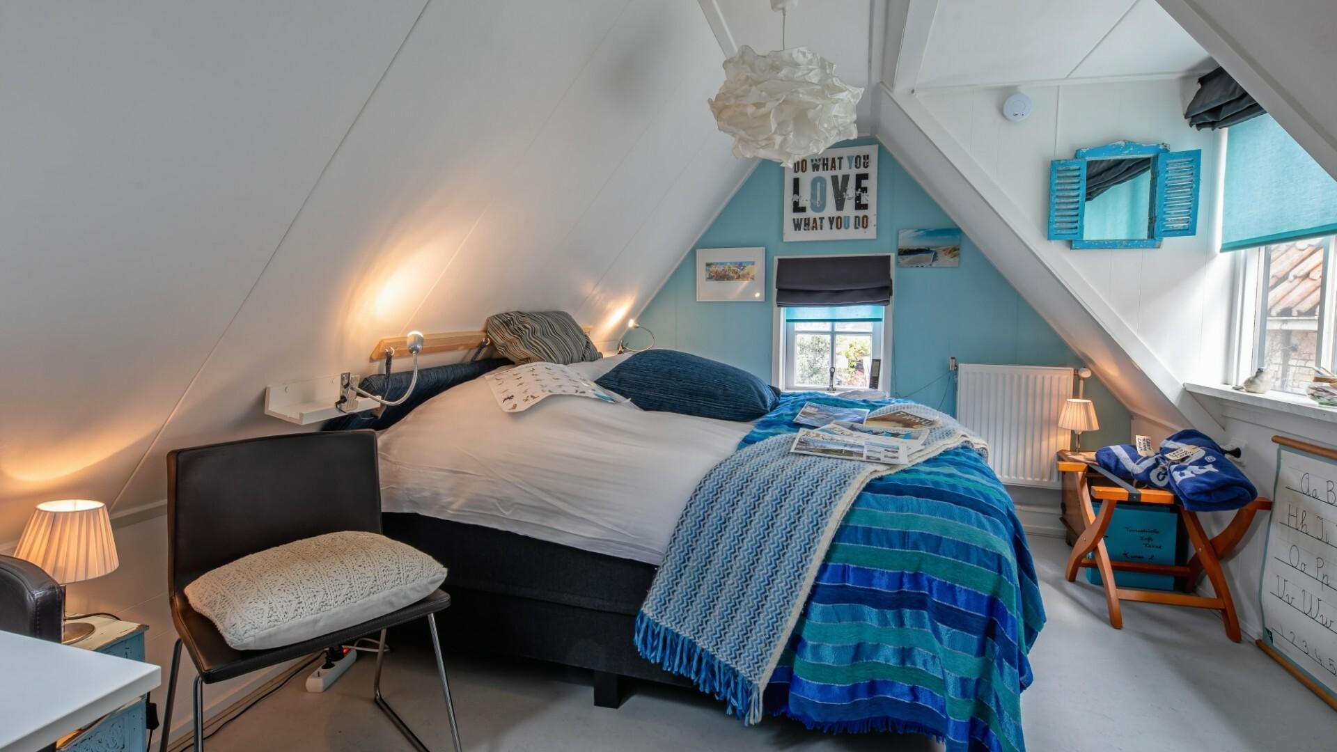 Slaapkamer Spookhuis Den Hoorn fotograaf Justin Sinner VVV Texel