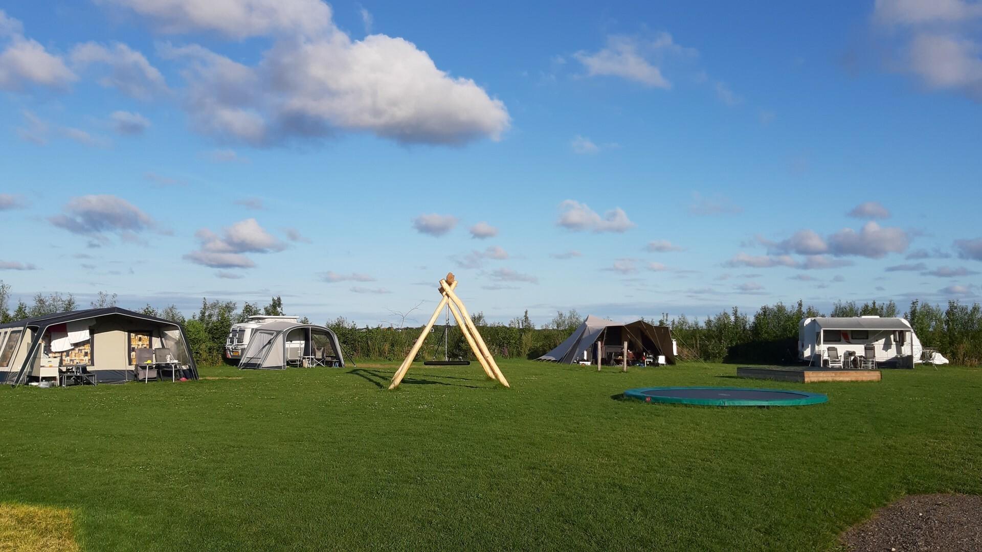 Boerderijcamping Texel speeltoestel trampoline VVV Texel