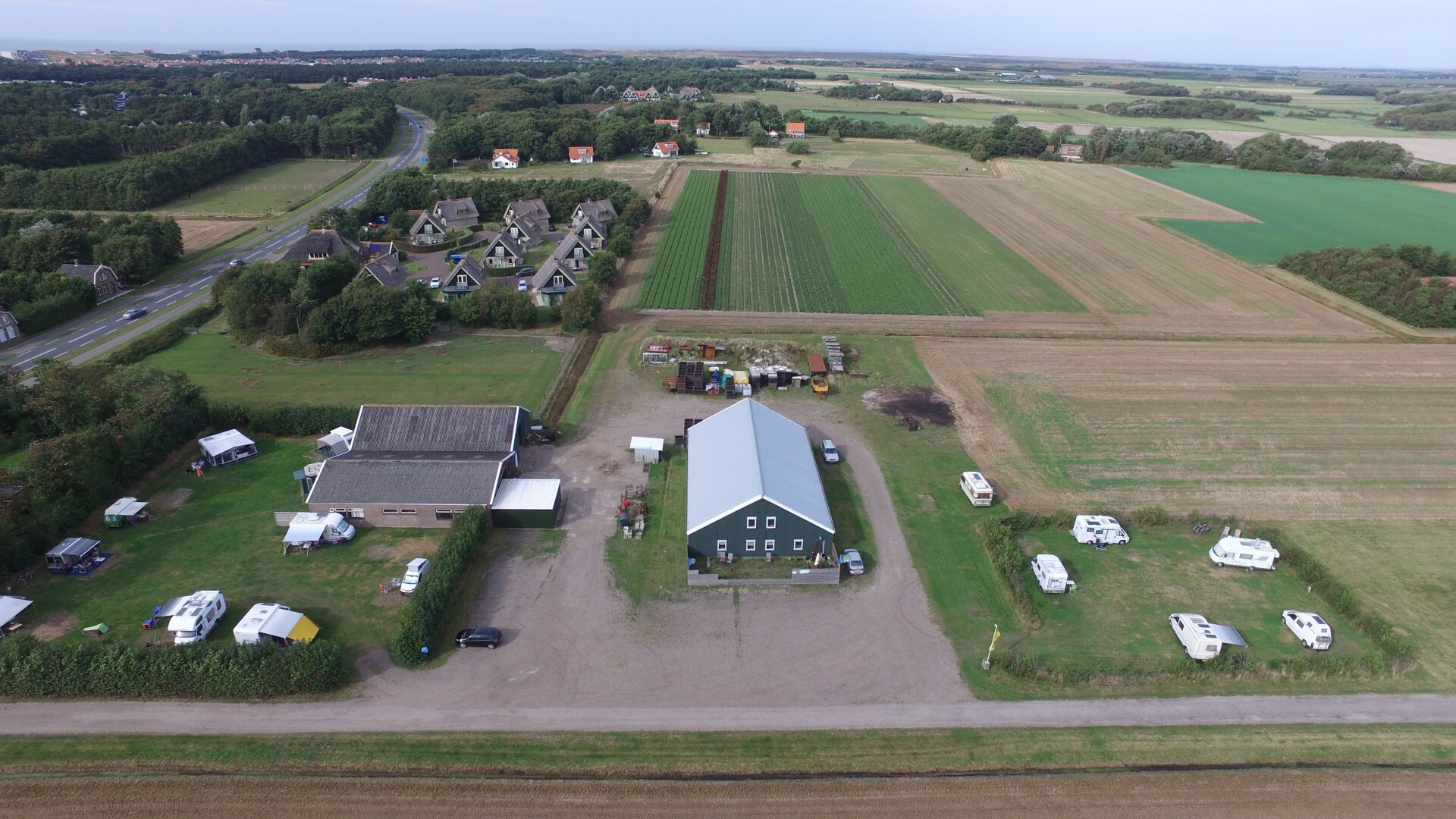 Camping De Vrolijke Zwaluw bij De Cocksdorp VVV Texel