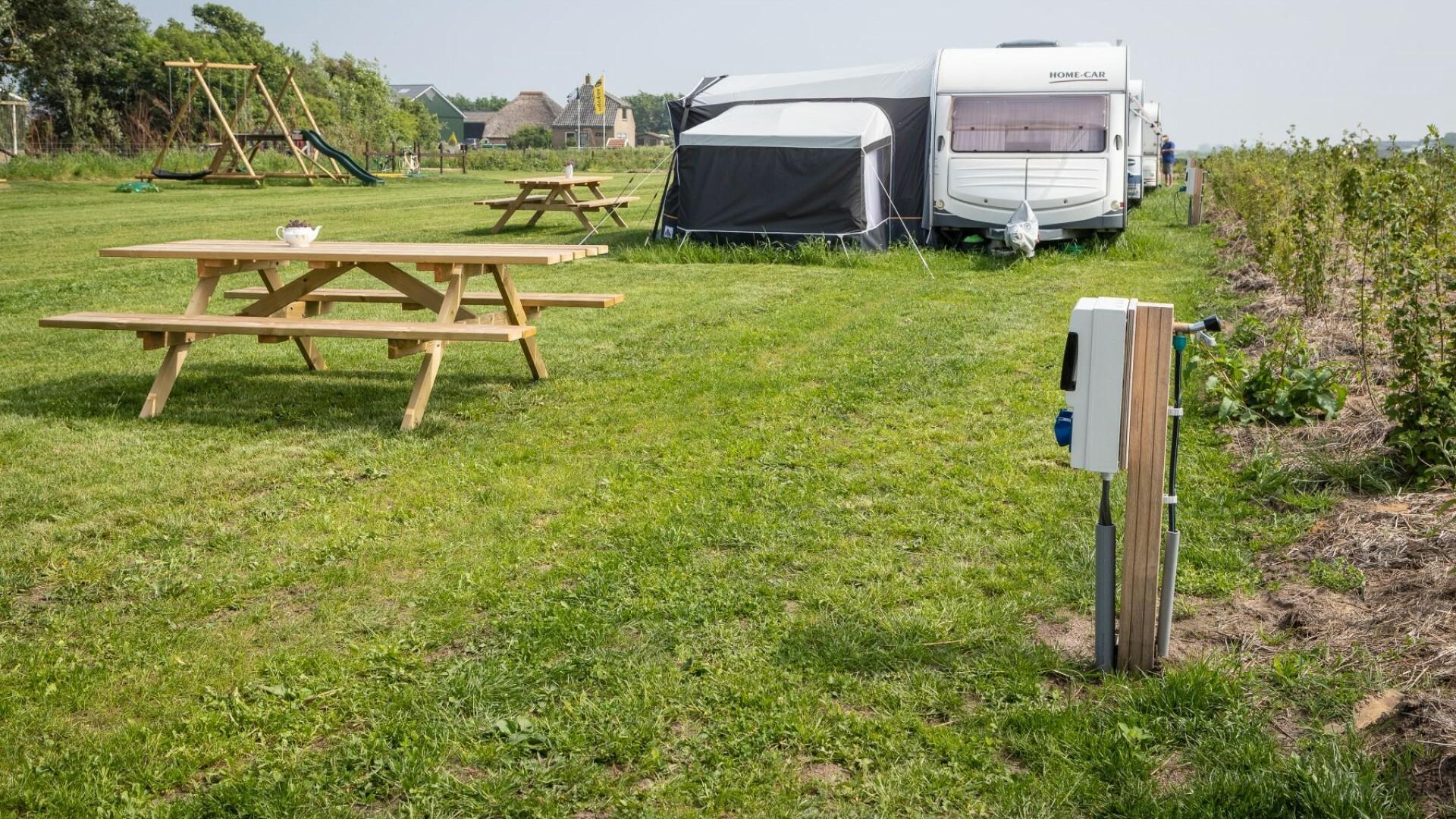 De Tesselsekamping boerencamping caravanplaats VVV Texel