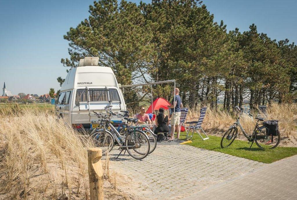 Camping Loodmansduin bij Den Hoorn geschikt voor camper VVV Texel