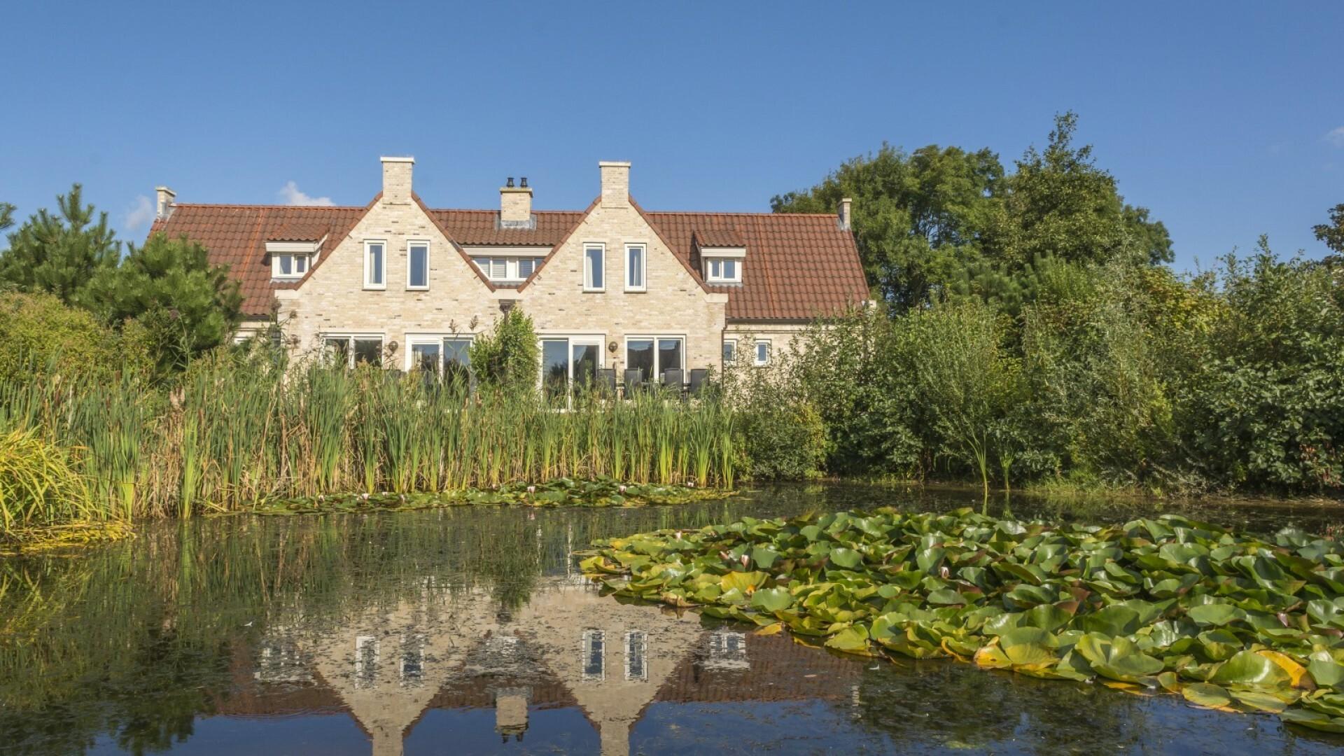 Familievilla groepsaccommodatie Vakantiepark De Krim VVV Texel
