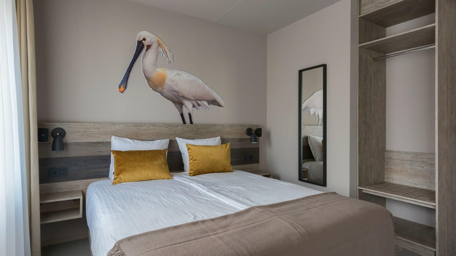 Hotel Prins Hendrik kamer lepelaar VVV Texel
