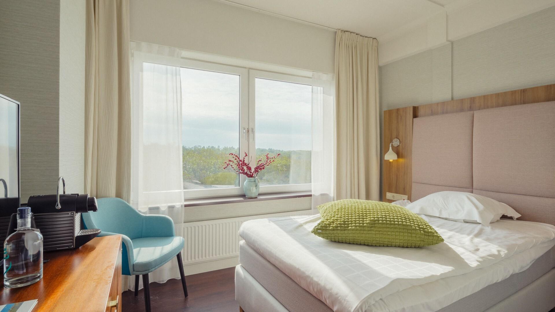 Hotelkamer Single Standard van Hotel Opduin VVV Texel