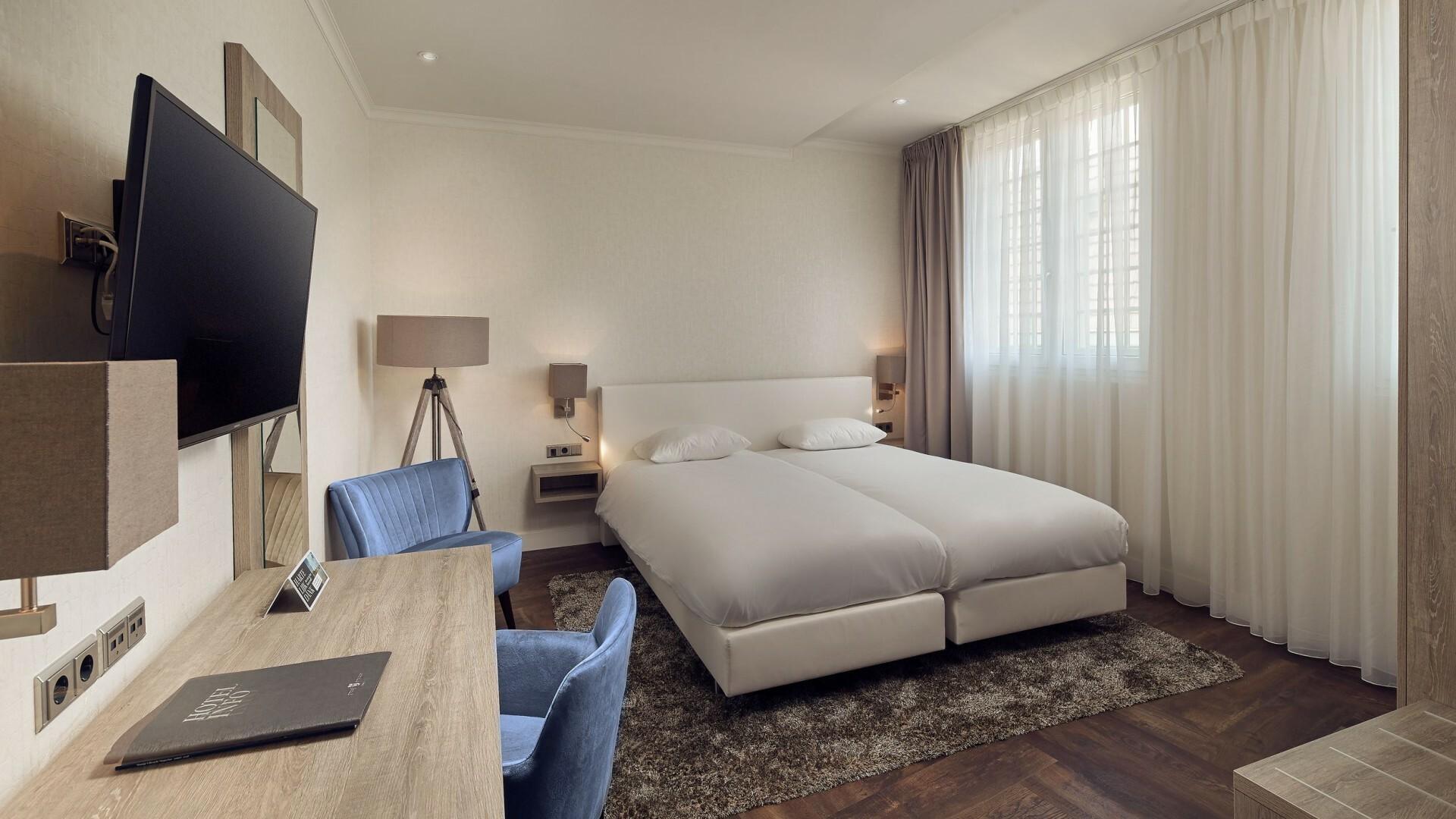 Comfort twin kamer Hotel De Lindeboom VVV Texel