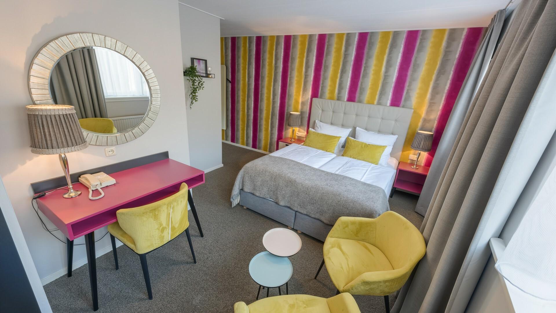 Hotelkamer van Hotel Op Diek in Den Hoorn VVV Texel