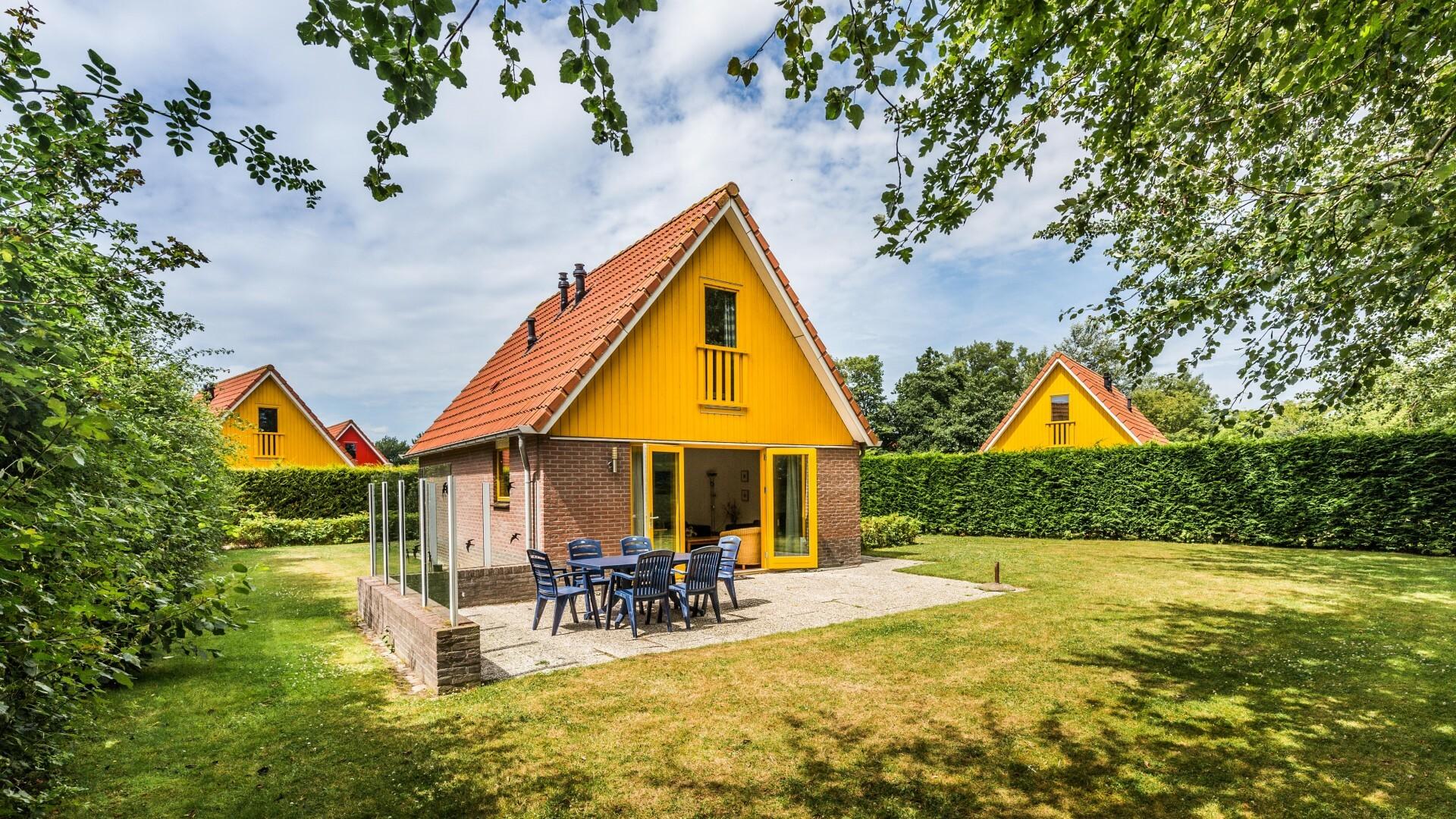 Vakantiehuis Watersnip type 2 nr 29 op Bungalowpark Prins Hendrik VVV Texel