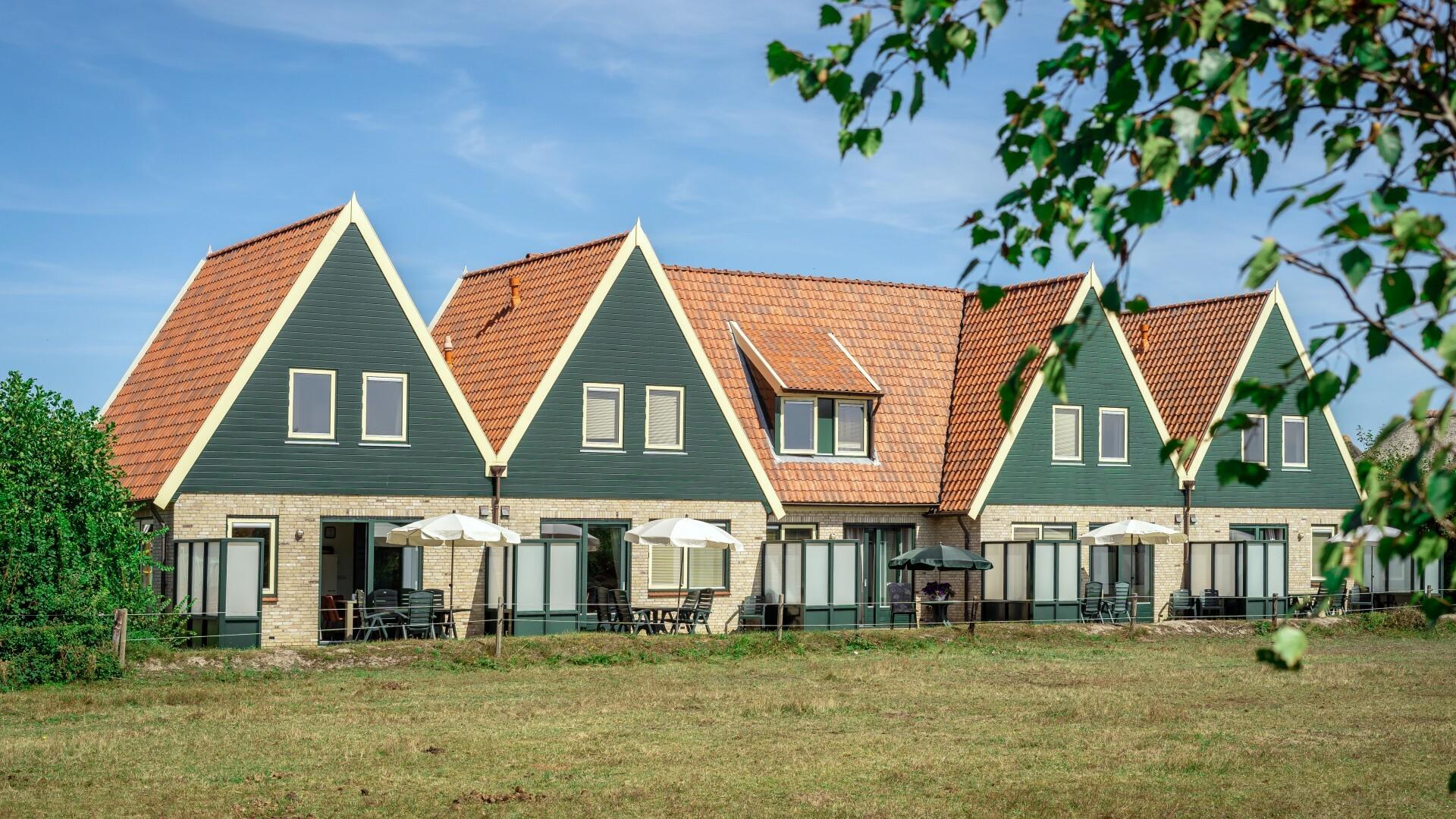 Geschakelde vakantiehuizen Hoeve Landleven in De Koog VVV Texel