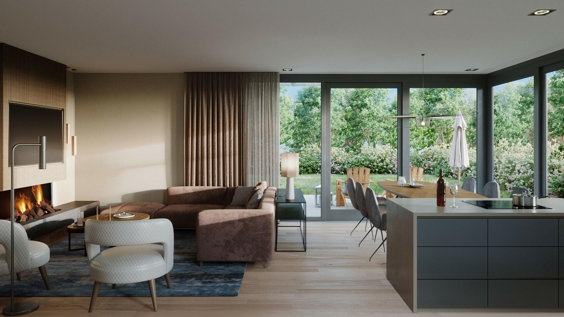 Luxe villa met sfeerhaard op Villapark De Koog VVV Texelk