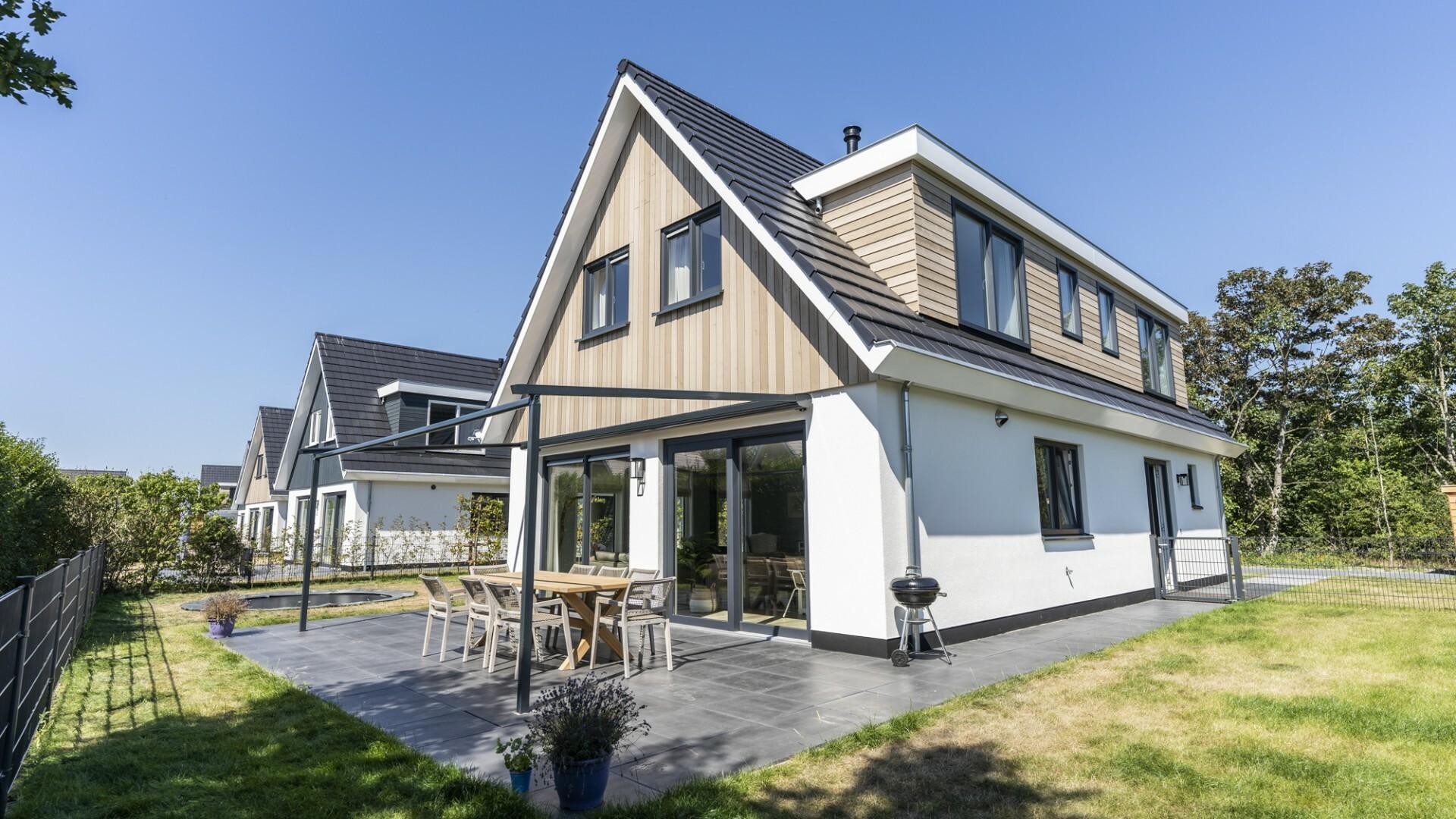 Vakantiewoning tuin villapark So What VVV Texel