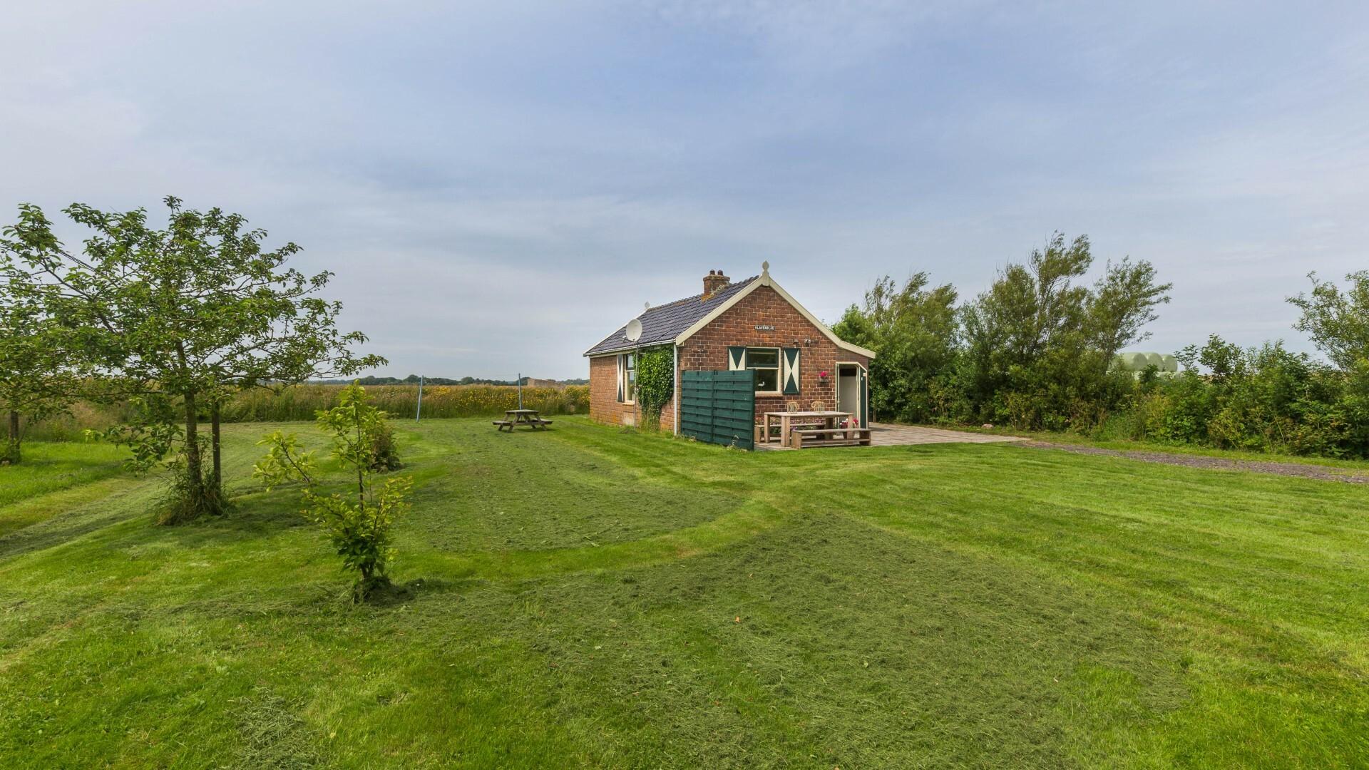 Vakantiehuis Het Klaverblad tuin VVV Texel