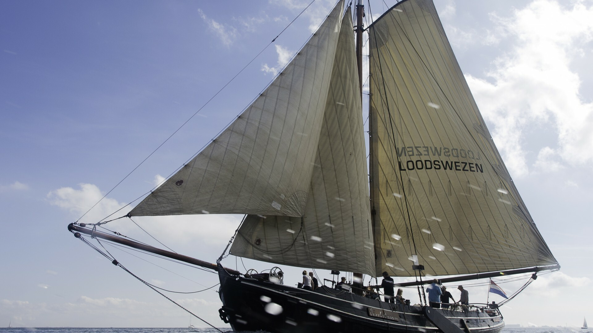 Loodsbotter Texelstroom accommodatie boot VVV Texel