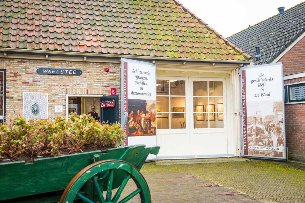 Museum Waelstee in De Waal VVV Texel