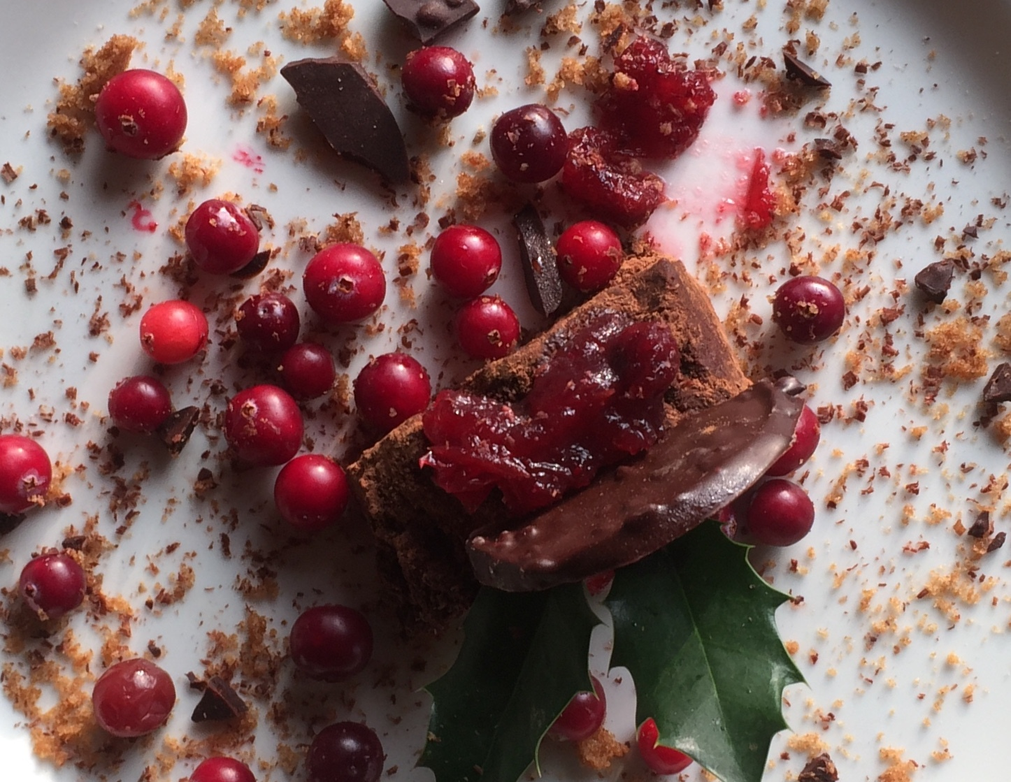 Chocolade kersttaartje VVV Texel Fotograaf Annette van Ruitenburg 2