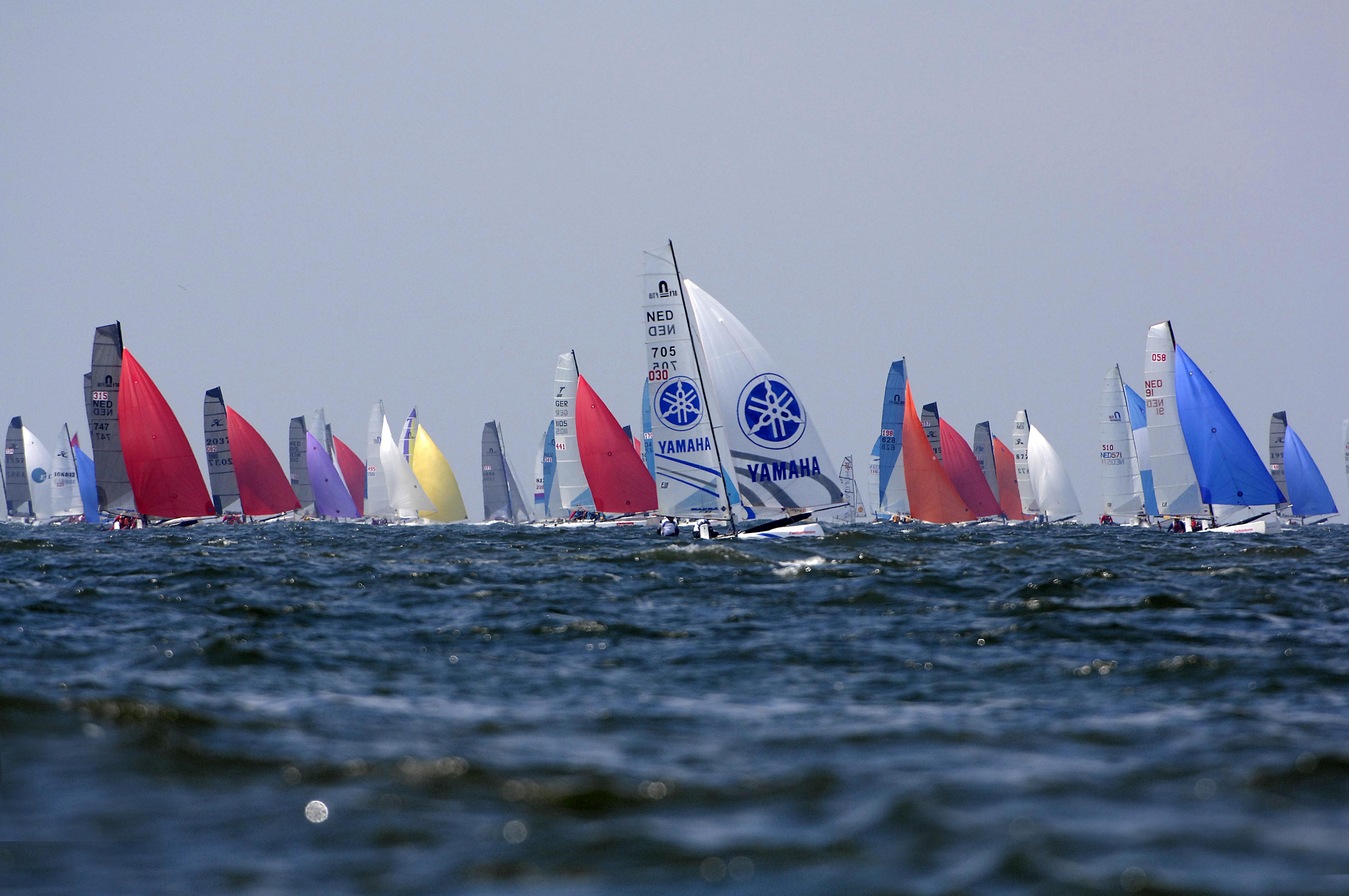 Zeilbote ronde on Texel VVV Texel