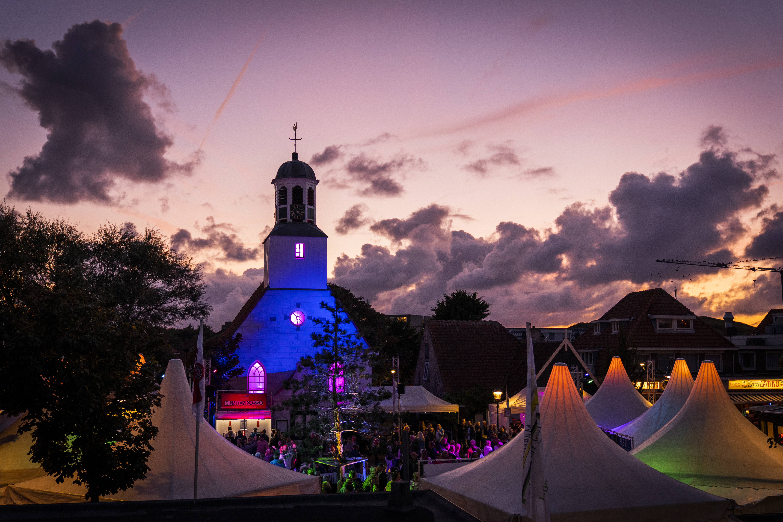 Texel Culinair festivalterrein in de avond fotograaf Liselotte Schoo VVV Texel