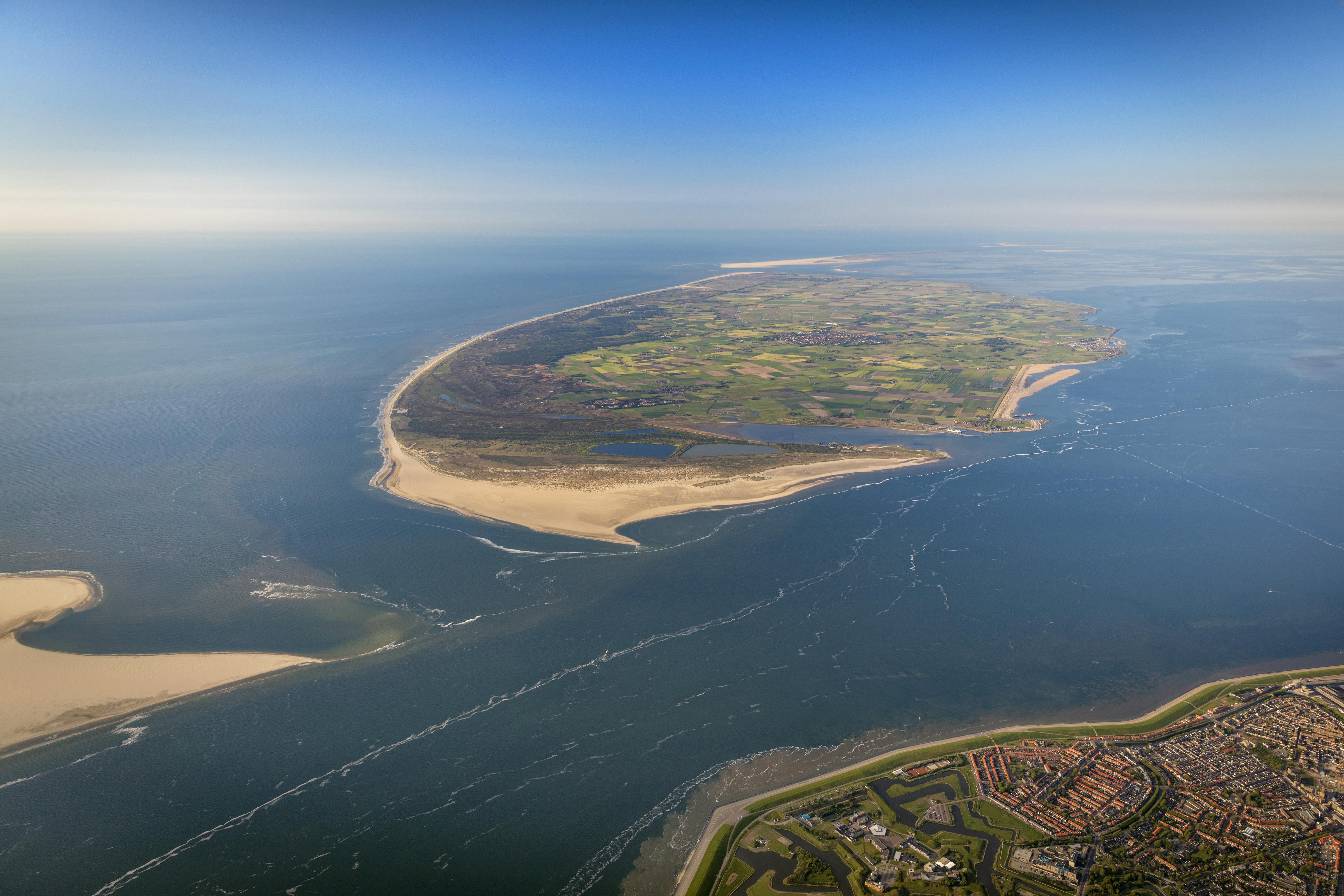 Luchtfoto Texel VVV Texel Fotograaf Herman I Jsselink Flying Focus