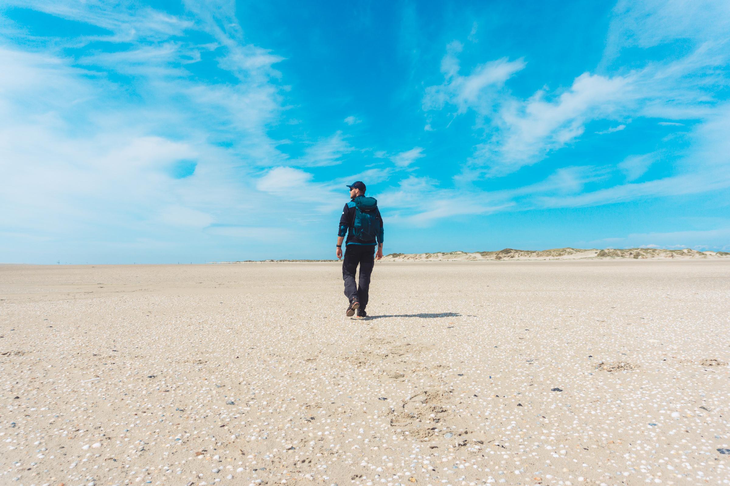 Lange wandeling maken op Texel VVV Texel fotograaf Kaz Paul van The Hike