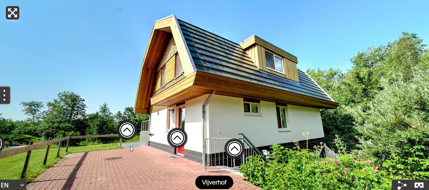 Virtuele rondleiding in vakantiehuis Vijverhof VVV Texel