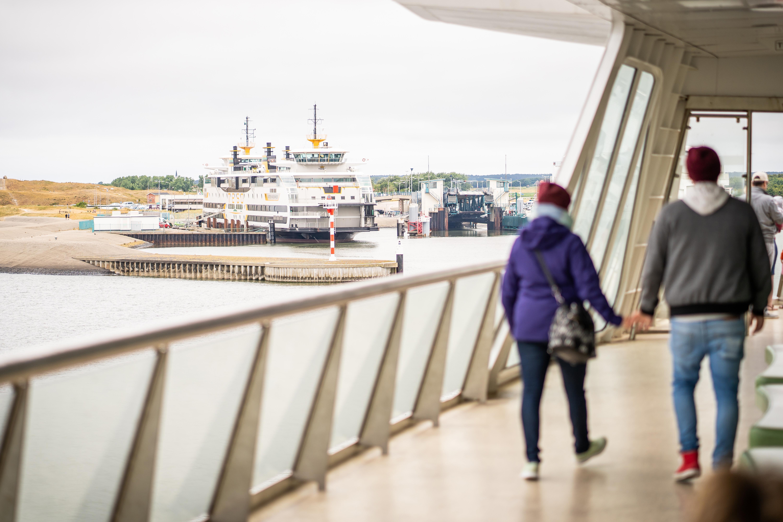 Als voetganger met de boot over VVV Texel fotograaf Stefan Krofft